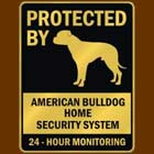 American bulldog sign