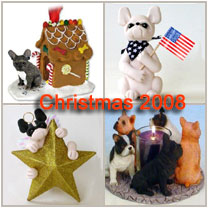 French bulldog Christmas decor and gift ideas