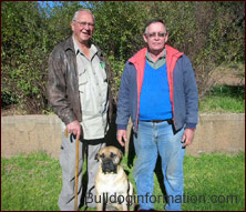 two of the original Boerboel breeders