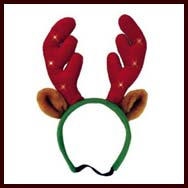 Christmas antlers for dogs